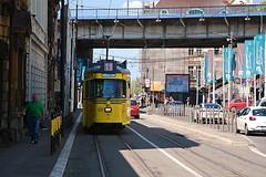 Tram 11 (salaminijo) Tags: tram tramvaj traffic saobraćaj transport savamala beograd belgrade ser street ulica light lightanddark shadows road alley vechicle outdoor architecture