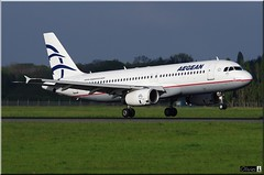 Airbus A320-232, SX-DGN, Aegean Airlines (OlivierBo35) Tags: nantes nte spotting airbus a320 aegan