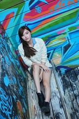 Yibi0031 (Mike (JPG直出~ 這就是我的忍道XD)) Tags: yibi 西門町 d300 model beauty 外拍 portrait 2013 fifi