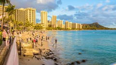 Waikiki beach - Honolulu Hawaii (jjdupuy) Tags: oahu waikikibeach 2017 canon6d hawaï honolulu hawaii étatsunis us