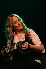 Niamh Ní Charra (Carlos Núñez Band) – Common Ground: Carlos Núñez' Celtic Journey – 10/10/08 (photo: Gordon Hotchkiss)