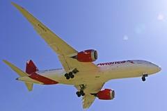 BCN/LEBL: Avianca Boeing B787-8 Dreamliner N791AV (Roland C.) Tags: avianca boeing b787 b788 b7878 b787800 bcn lebl airport barcelona spain