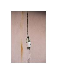 4150044 (ufuk tozelik) Tags: ufuktozelik urban detail electric switch wall cracks stain rusty pink building