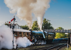 Steam Day (Paul GF3) Tags: england flying scotsman svr steam steamengine station steamtrain severn valley railway railroad railwaystation no60103 locomotive lner londonnortheasternrailway outdoors preservation preservedrailway pacific power train a3 kidderminster
