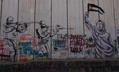 Seperation Wall - Bethlehem (mulderlis) Tags: israel west bank palestina palestine separation wall muur graffiti street art border grens
