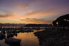Another one silly sunset  -  Lerici (All Chefs Are Bastards) Tags: lerici cinque terre liguria italy sunset nikon