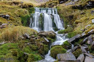 Cwm Llwch Waterfall