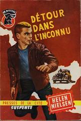 Collection un mystère 444 (Boy de Haas) Tags: vintage paperbacks vintagepaperbacks 1950s fifties french roman criminel