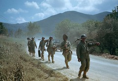 On the road to Rome 1944 (Peer Into The Past) Tags: peerintothepast military 1944 rome italy historyincolor vintage history worldwartwo ww2 usarmy