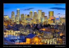 Blue hour with the downtown skyline, Calgary, Alberta (kgogrady) Tags: landscape winter calgary alberta canada clouds calgaryalberta 2017 canadianskyline calgaryphotos cityscape downtown fujifilmxt2 calgaryab bluehour cans2s fujinon calgarypictures city ab fujifilm canadiancity westerncanada skyline southernalberta skylinephotos skylinepictures xt2 xf18135mmf3556oiswr