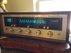 "MARANTZ 2215B RECEIVER, WORKING. • <a style=""font-size:0.8em;"" href=""http://www.flickr.com/photos/51721355@N02/33439147826/"" target=""_blank"">View on Flickr</a>"