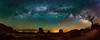 Monument Valley Milky Way Rising (Jerry T Patterson) Tags: monumentvalley milkyway nightsky themittens theviewhotel arizona longexposure