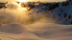 Sunset from Mt Seymour (ppanek511) Tags: winterbeauty