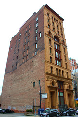 The Dun Building (jmaxtours) Tags: thedunbuilding greenwicksarchitects 189495 renaissancerevivalstyle buffalonewyork buffalo neon newyork architecture