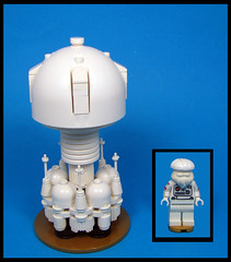 'Shroom Ship (Karf Oohlu) Tags: lego moc microscale microspacetopia minifig mushroom mushroomship scifi