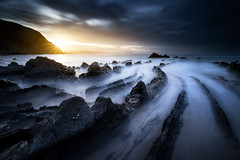 Bizkaia (JD Photographie.) Tags: barrika bizkaia spain beach sand ocean sun long exposure seascape filter lee cpl nd gnd grad light julien delaval