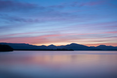 Setting Sun (Alec-Gibson) Tags: lochlomond balmaha scotland sunset