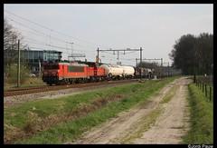 DBC 1604 Heeze (Jordi Pauw) Tags: dbc db cargo deutsche bahn 1600 1604 6400 6411 unitcargo uc lutterade dsm sittard kijfhoek ketels ketelwagens staal staalwagens nederland canon 1000d