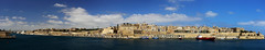 The Grand Harbour, Valletta, Malta. (廖法蘭克) Tags: thegrandharbour malta canon 6d canonef1740mmf4l 馬爾他 瓦萊塔 環景 harbor 港口 fortstangelo unesco unescoworldheritage 世界文化遺產 ship 船 藍天 藍色 blue bluesky 老城 oldtown frank photographer photography photograph vallettawaterfront vacation relax holiday easter ocean sunny sunshine valletta