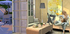 lazy sunday afternoon (flubs ♥) Tags: avatar love indoor couple sims4 ts4 thesims4 flickr people groupshot female male
