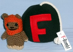 GeekCraft Expo Purchases (Darth Ray) Tags: madison geekcraft expo purchases crochet wickettheewok fbomb wicket ewok f bomb