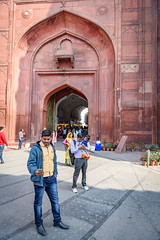 Gate Selfies (luke.me.up) Tags: india delhi newdelhi nikon d810 fort redfort