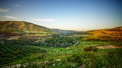 River Jordan (ibndzerir) Tags: olivetrees 1020mm sigma sony نهر الأردن border syria palestine landscape omqays jordan river