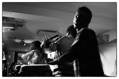 Mark Ernestus' Ngadda Rhythm Force @ Cafe Oto, London, 22nd April 2017 (fabiolug) Tags: markernestusngaddarhythmforce ngaddarhythmforce markernestus cafeoto london dalston music gig performance concert live livemusic leicammonochrom mmonochrom monochrom leicamonochrom leica leicam rangefinder blackandwhite blackwhite bw monochrome biancoenero voigtlandernoktonclassic35mmf14 voigtlandernokton35mmf14 voigtlander35mmf14 35mm voigtlander movement motion