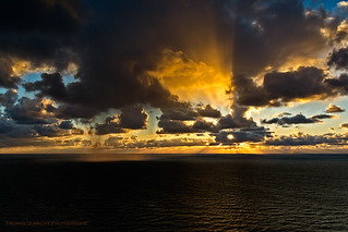 Amazing Sunrice over the Baltic Sea