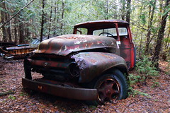 IMG_2745 (Irina Souiki) Tags: rusty crusty cars mcleansautowreckers milton ontario old oldcars