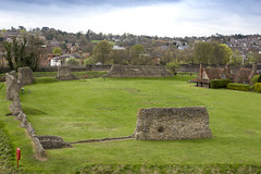 Berkhamsted Castle, English Heritage (fillbee) Tags: berkhamstedcastle twoditches threesetsofearthworks motte curtainwall bailey normanmotteandbaileycastle robertofmortain thomasbecket besiegedin1216 princelouis edward theblackprince johniioffrance englishheritage cannon eos 5d mark iii