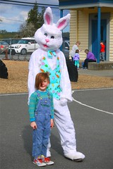 Ogden and the most chill bunny ever!!! (brettbigb) Tags: easter 2017 arlis ogden