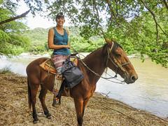 Puerto Escondito Horse rise in mountains-3