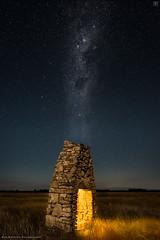 Heavenly hearth (Rob Reaburn Photography) Tags: cosmic chimney heavenly hearth nightscape milkyway southernsky stars constellations night centralvictoria australia