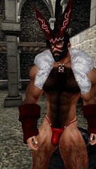 Nawty Easter Bunny (TekKarfield) Tags: n4rs mk bear hairy leather dungeon gay beard erotica niramyth