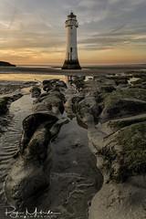 """Just love my 24mm Tilt Shift Lens"" (Ray Mcbride Photography) Tags: lighthouse newbrighton northwest sunset"