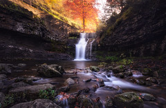 Chasing the Light (michelangelo_84) Tags: nikon d5100 spain españa rock le longexposure largaexposicion landascape paisaje agua water nature naturaleza lucroit nd1000 nd nd30 sunset atarceder sigma sigma1020 dreamscape sky cielo nubes clouds larioja sierracebollera daylight otoño fall hojas leaves forest bosque bestof waterfall waterscape cascada river rio