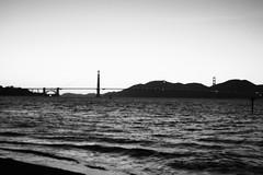 Bridge in Black and White - 4-21-2017 (kimstrezz) Tags: 2017 rpconference2017 sanfrancisco sanfranciscoca goldengatebridge blackandwhite