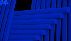 PoC in blue (occhio-x-occhio) Tags: abstract 500px watermark blue web outdoor street oxo sorrento smooth pof plastic nosubject