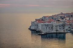 by the sea... (Felix Vila) Tags: dubrovnik sunset adriatic croacia sea unesco