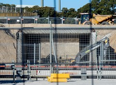 CBD & South East Light Rail - Moore Park - Update 24 April 2017  (9) (john cowper) Tags: cselr moorepark sydneylightrail cutandcover tunnel alignment easterndistributor acconia sydney infrastructure construction transportfornsw newsouthwales