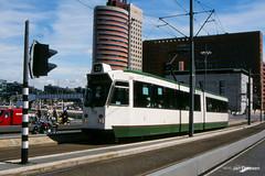RET Rotterdam (Jan Dreesen) Tags: openbaar vervoer transport public transit tram tramway streetcar ret rotterdam zgt 700 20 wilhelminaplein erasmusbrug