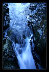 Whitewater (Seeing Things My Way...) Tags: newzealand thechasm cleddauriver rapids rocks stones flow curtain