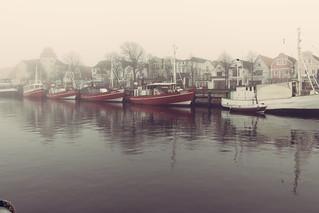 Red in Fog