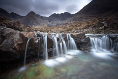 Fairy Pools, Skye (PeterYoung1.) Tags: atmospheric beautiful fairypools landscape mountain hills rocks isleofskye skye nature scenic scotland scottish uk water waterfall falls pools