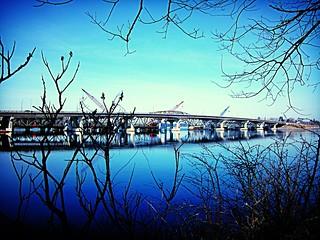 Blue Framed Bridge