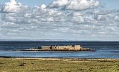 Fort Raz & the French Coast from Alderney (neilalderney123) Tags: ©2017neilhoward alderney raz longis france therace landscape water