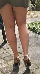 MyLeggyLady (MyLeggyLady) Tags: sex hotwife milf secretary teasing upskirt cfm pumps ass thighs miniskirt sexy stilettos legs heels