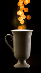 a hot, steamy and refreshing cuppa bokeh (auntneecey) Tags: cup bokeh steam 365the2017edition 3652017 day114365 24apr17