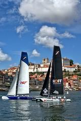 Regata no Douro (vmribeiro.net) Tags: geo:lat=4113759503 geo:lon=861600637 geotagged porto oporto vila nova gaia portugal regata extreme series sailing sony a350